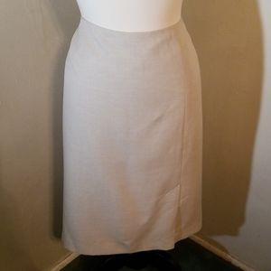 Kasper lined skirt
